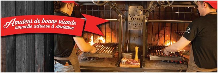 Resto du Boucher Restaurant in Andenne