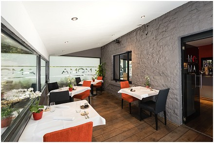 Le Moma Restaurant in Annevoie-Rouillon