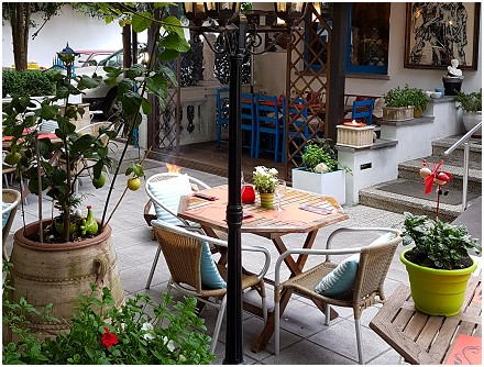 El Greco Restaurant grec à Bouge