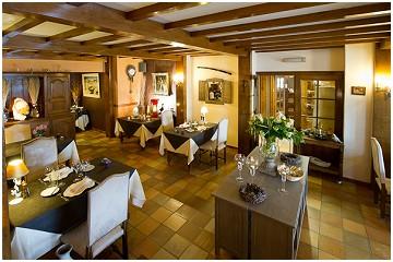 Hostellerie Sainte-Cécile Hôtel - Restaurant gastronomique in Sainte-Cécile