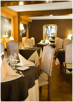 Hostellerie Sainte-Cécile Hôtel - Restaurant gastronomique à Sainte-Cécile