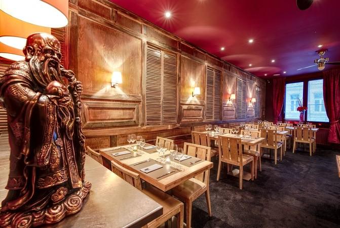 l'Orchidée Blanche Restaurant à Ixelles (Bruxelles)