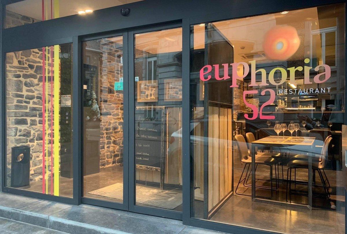 Euphoria 52 Restaurant in Ciney