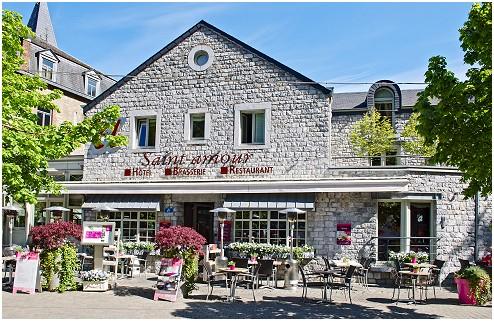 Le Saint-Amour Restaurant - Hôtel à Durbuy