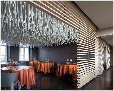 L 39 air du temps restaurant gastronomique liernu for Architecture interieur bruxelles