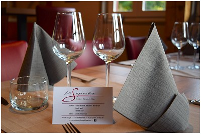 La Sapinière Restaurant à Étalle
