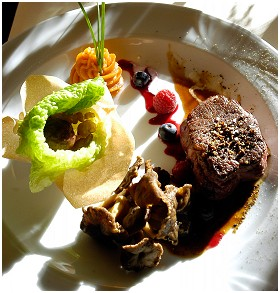 Foto's van restaurant Les Caves du Château Hôtel - Restaurant gastronomique in Rendeux