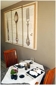 Le Jardin de Caroline Restaurant gastronomique à Housse