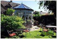 Restaurant gastronomique Le Jardin de Caroline - Housse