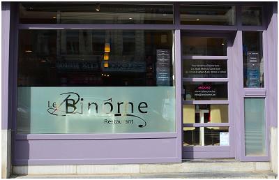 Le Binôme Restaurant in Jambes