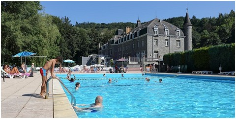 Le  Floréal Restaurant Le Parc à La Roche-en-Ardenne