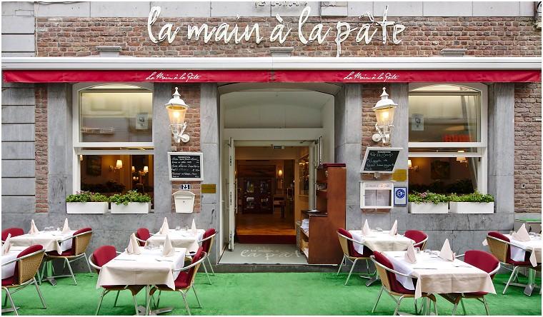 La Main à la Pâte Fine cuisine italienne à Liège
