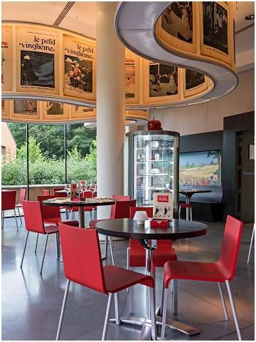 Le Petit Vingtième Restaurant du Musée Hergé in Louvain-la-Neuve