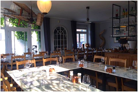 La Marelle Restaurant in Louveigné