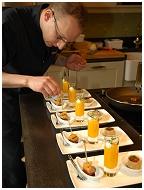 Chef coq à domicile - Service traiteur Arnaud Del Nero - Lustin