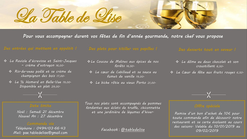 La Table de Lise