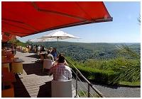 Un panorama exceptionnel! Brasserie - Tea Room - Restaurant Les 7 Meuses - Rivière