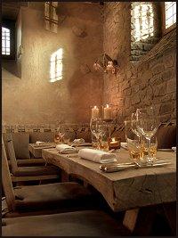Au Comte d'Harscamp Restaurant in Rendeux