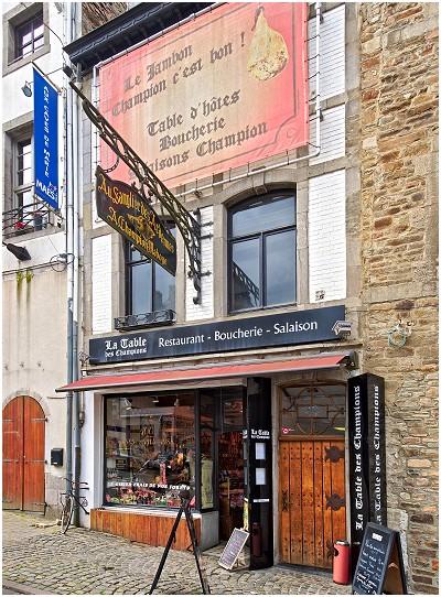 La Table des Champions Restaurant - Boucherie in Saint-Hubert
