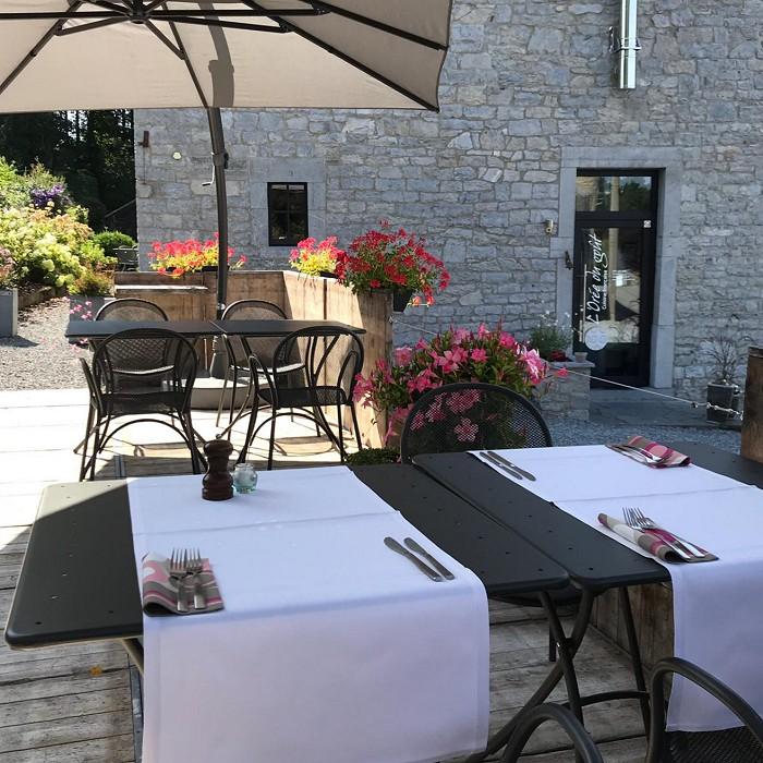 Foto's van restaurant L'Orée du goût Restaurant in Taviet (Sorinnes)