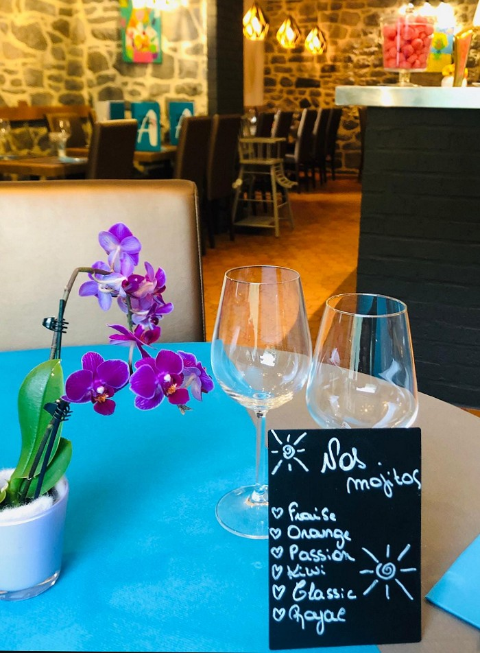 La Table d'Alex Restaurant in Thon-Samson