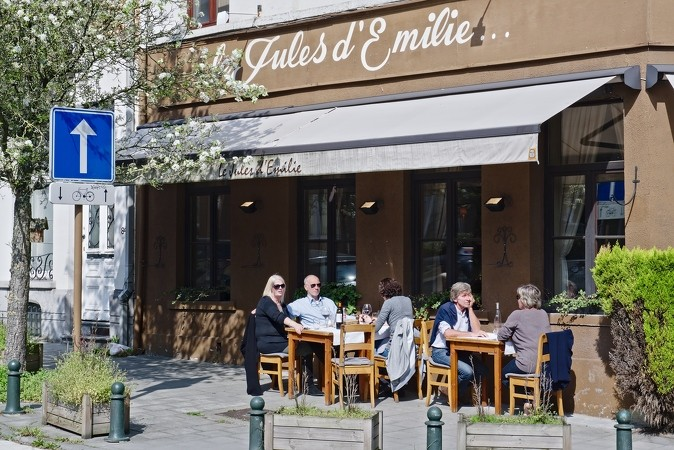 Le Jules d'Emilie Restaurant in Watermaal-Bosvoorde