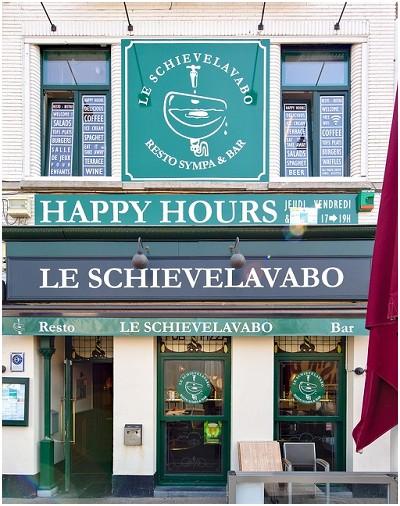 Schievelavabo Restaurant in Waver